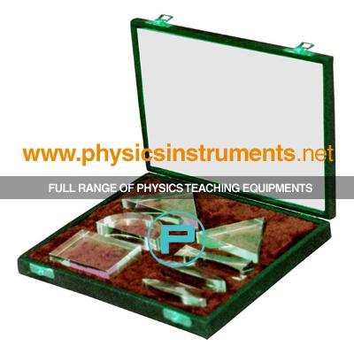 Set of Acrylic Plastic Blocks