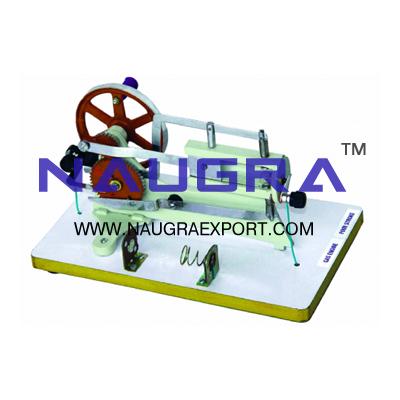 Demonstration Gas Engine 4 Stroke Model