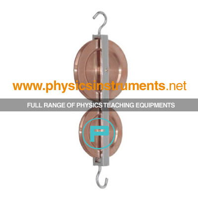 Pulley Double in Line Brass