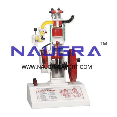 Four (4) Stroke Petrol Engine Model