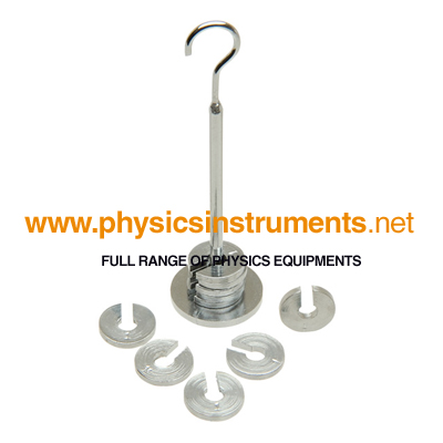 Stainless steel slotted weights Masses Set Steel