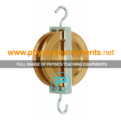 Pulley Double Parallel Brass