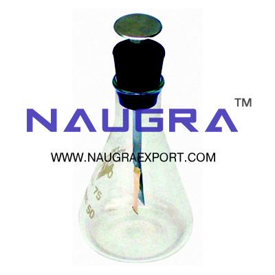 Electroscope - Simple Flask Type