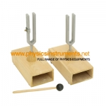Tuning Fork Pair on box (Beats Apparatus)